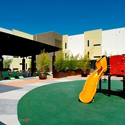 Patio & Playground